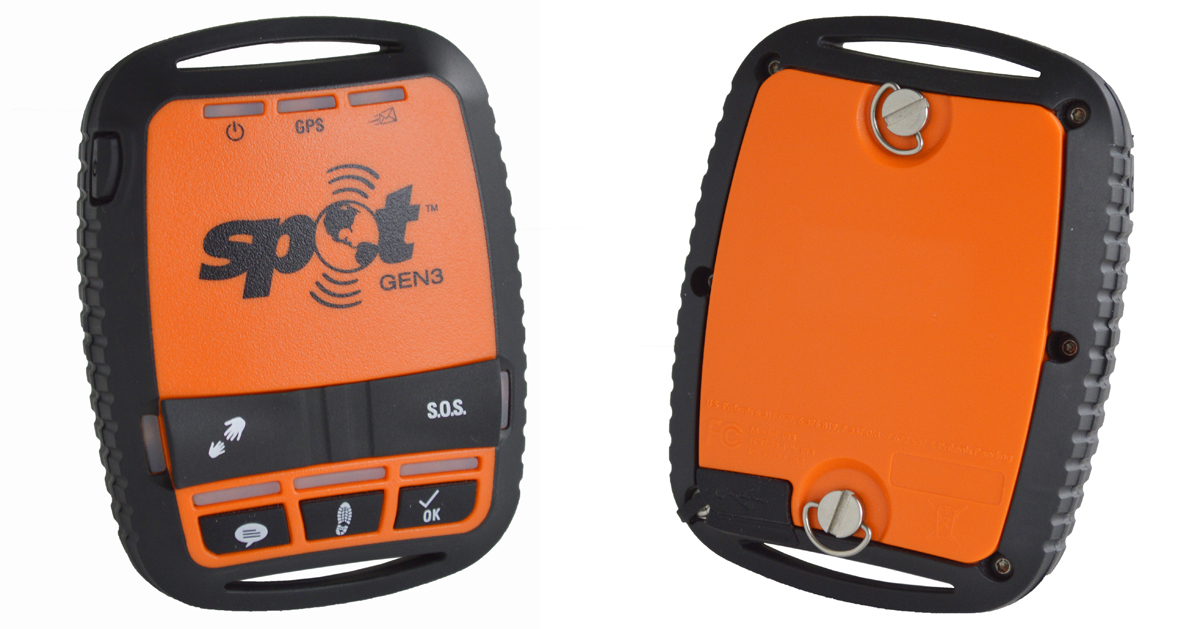 Spot GEN3 Satellite GPS Messenger and Tracking Device for Adventure Touring and Offroad